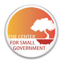 Center for Small Govt Button by pixelworlds