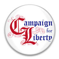 Campaign for Liberty Button by pixelworlds