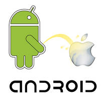 DROID vs Apple Vector Resource by pixelworlds