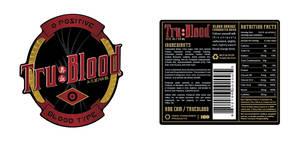 TruBlood Label Vector Resource