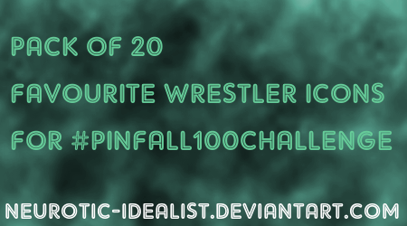 .:Favourite Wrestlers Icon Pack:. by Neurotic-Idealist