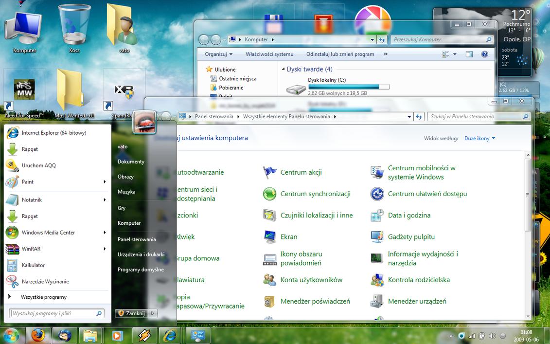 Windows 7 Polish MUI by jakubblaz