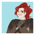 (Skyrim OC) Safiya Storm-Bringer