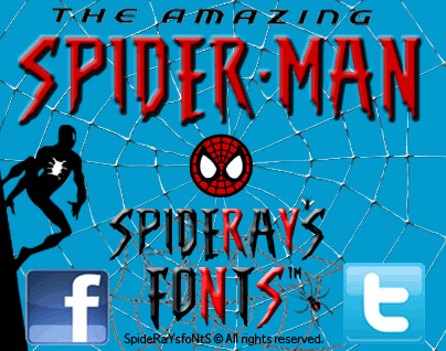 The Amazing Spider-Man Font by SpideRaY