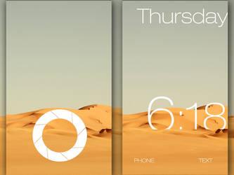 Desert theme with Lockscreen by milosstankostanko