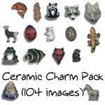 Ceramic Charm Pack