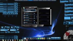 BlueAfterburner-GPU monitoring