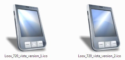 PocketLoox 720 Vista Icons