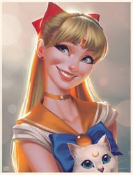 Sailor Venus Steps
