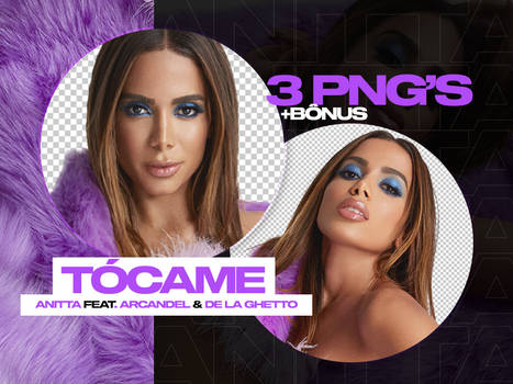 Anitta - Tocame PNGs