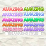 Ten amazing styles