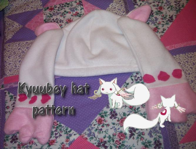 Kyuubey hat pattern by ninjapet