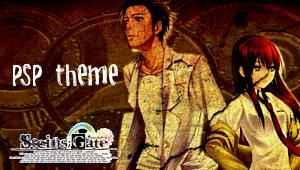 Steins Gate PSP theme by ninjapet