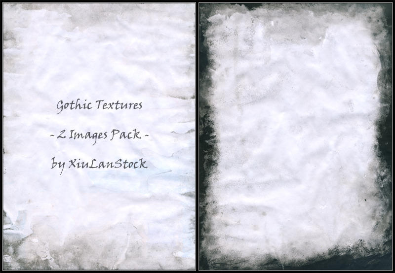 Gothic Textures Pack by XiuLanStock