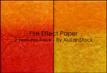 Fire Effect Paper Stock Pack