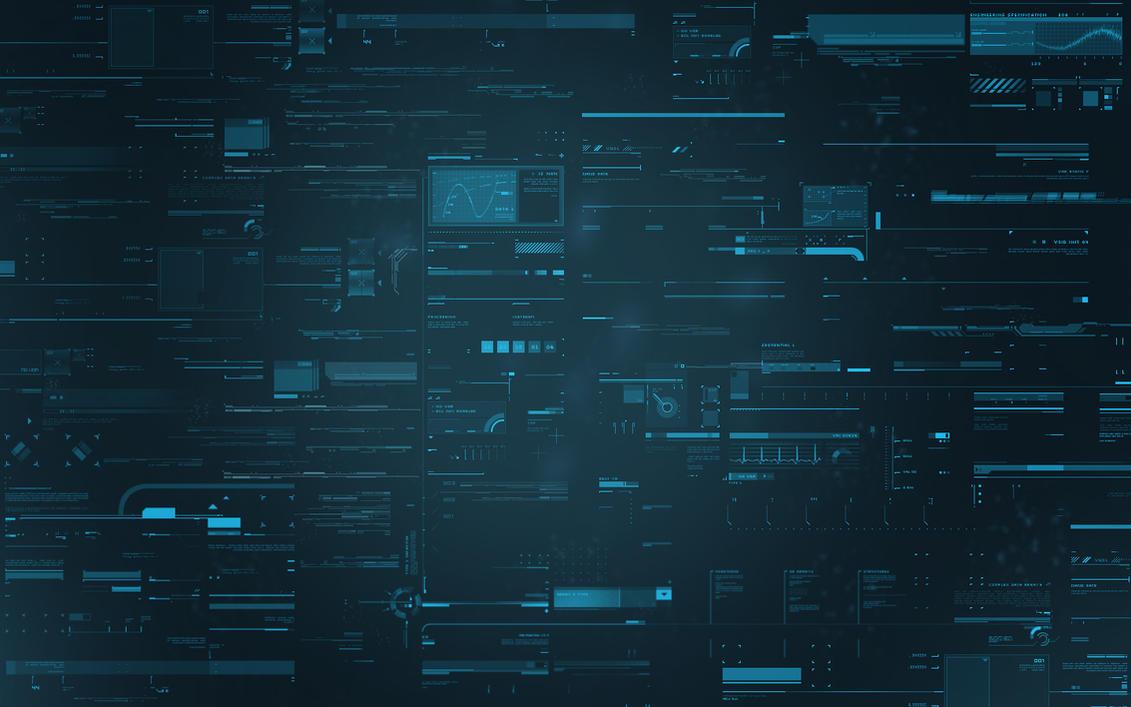 Digital Desktop by CaptianVenom