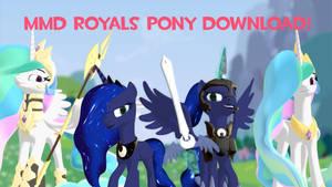 MMD Royals Pony DL