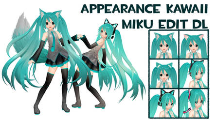 MMD Appearance Miku Kawaii Edit DL by FeuerRader-NMM