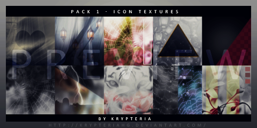 Icon textures/ Pack 1 by KrypteriaHG