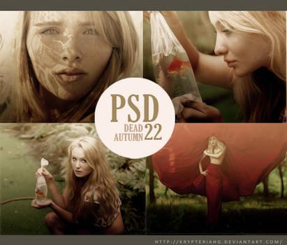 PSD 22 - Dead Autumn