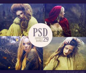 PSD 29 - Lovely Bones by KrypteriaHG
