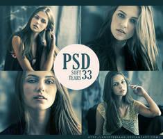 PSD 33 - Soft Tears by KrypteriaHG
