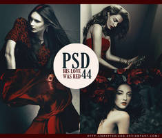 PSD 44 - His love was RED