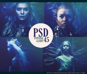 PSD 45 - Power and Glory by KrypteriaHG