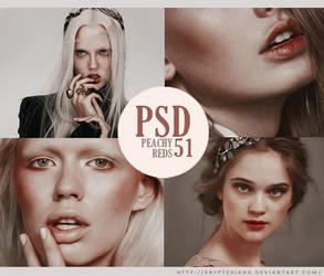 PSD 51 - Peachy Reds
