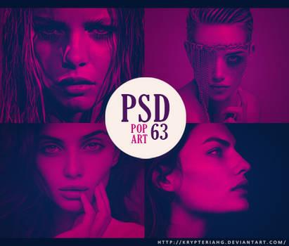 PSD 63 - Pop Art
