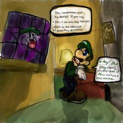 Luigi's Mansion - Booigi
