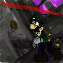 Luigi, the master thief