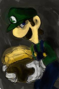 Luigi the greedy one