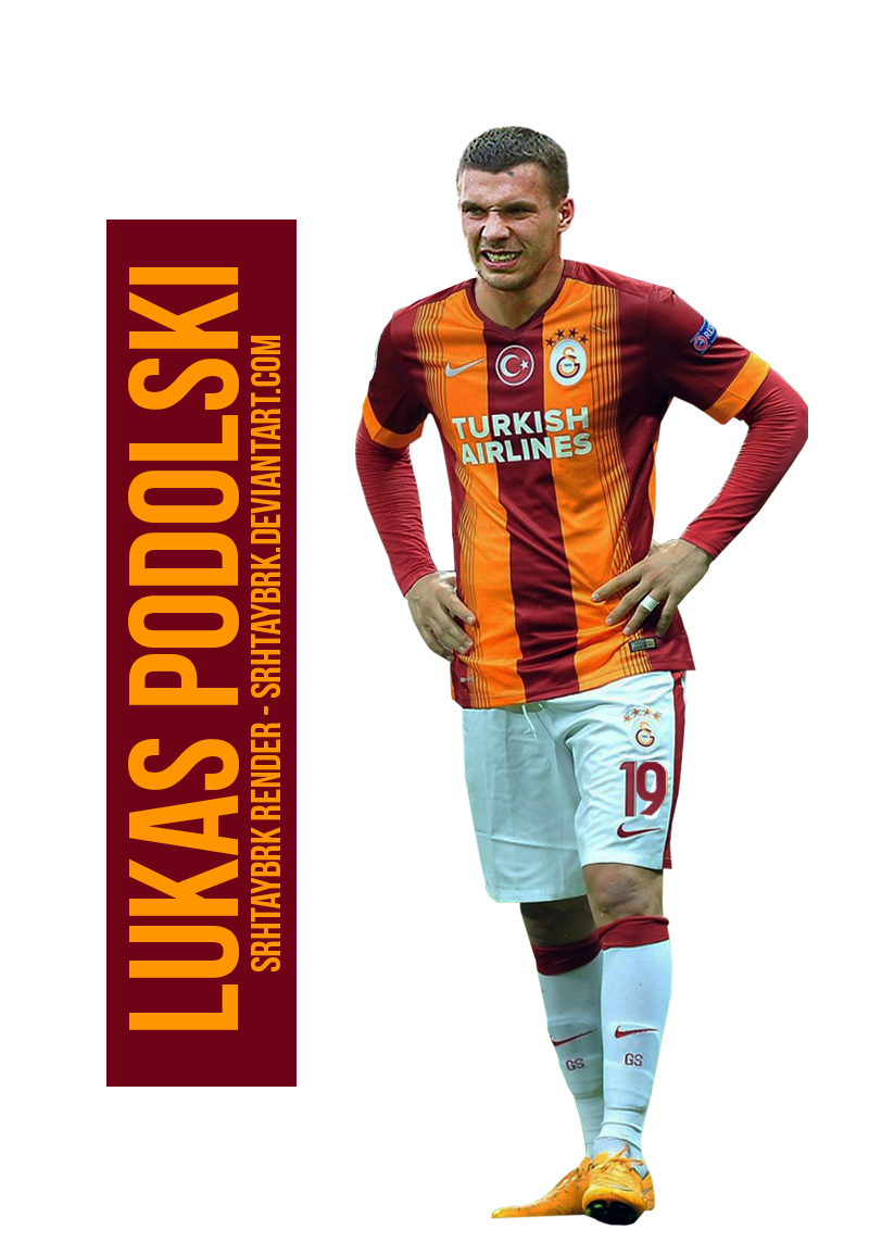 Lukas Podolski Render By Srhtaybrk On DeviantArt