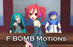 MMD F Bomb motions DL