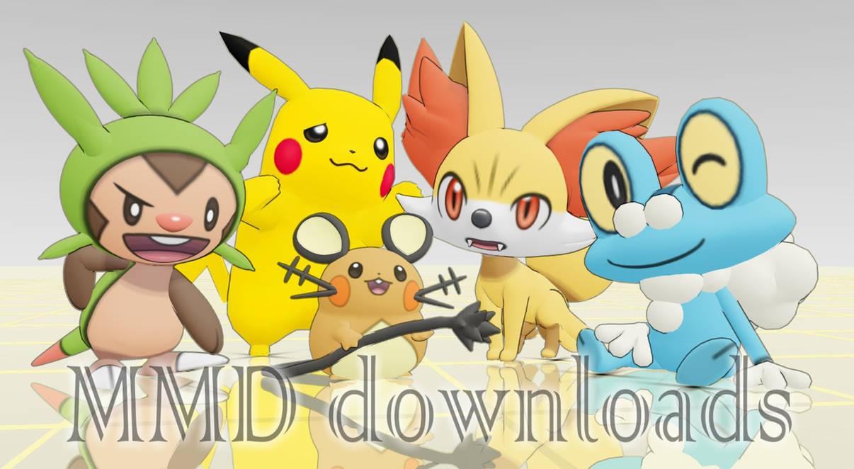 MMD Pokemon Team XY Download by Jakkaeront
