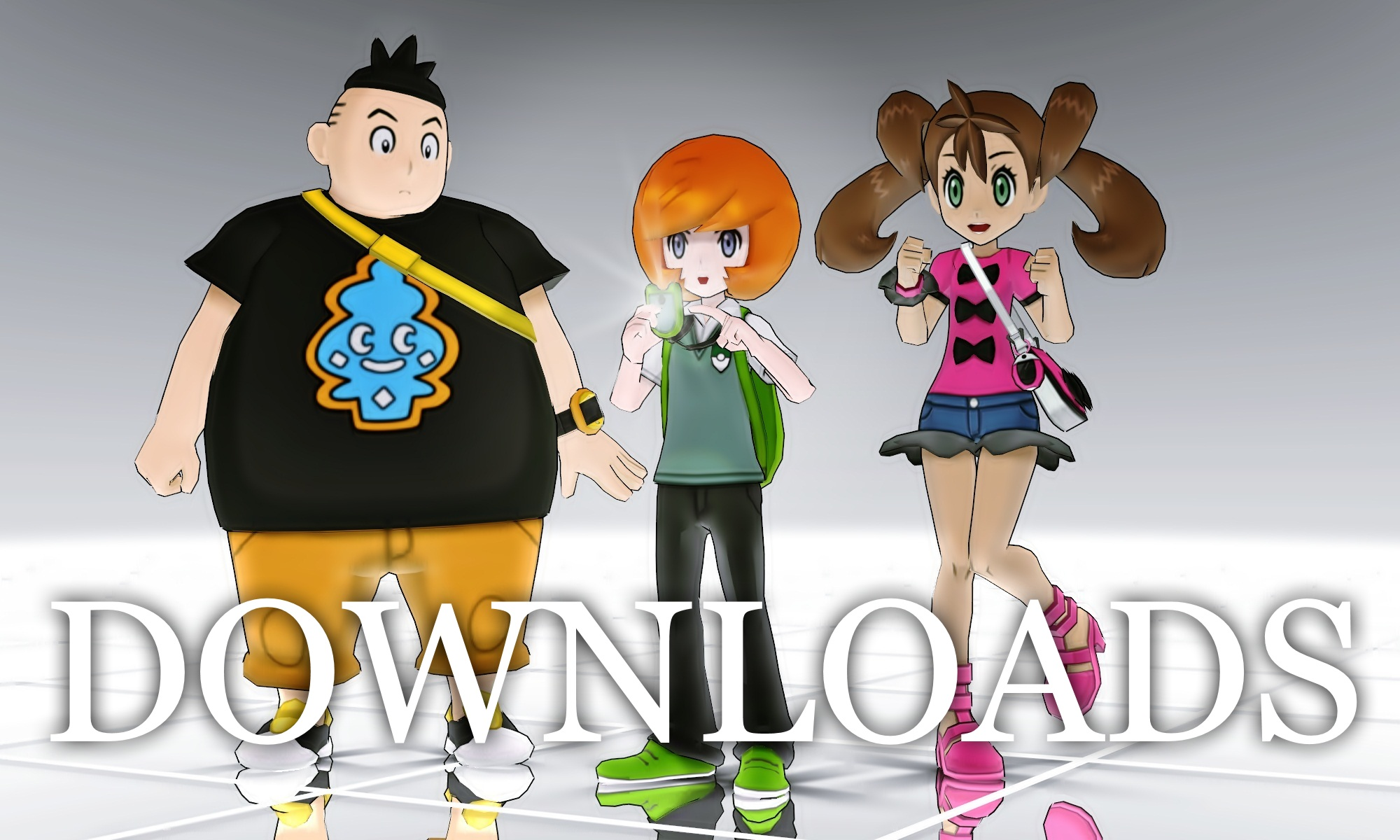 MMD Pokemon XY Rivals DL Off