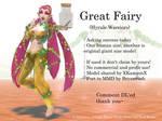 MMD Great Fairy (Hyrule Warriors) DL