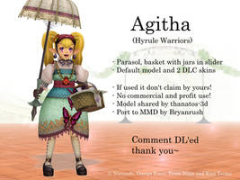 MMD Agitha (Hyrule Warriors) DL by Jakkaeront
