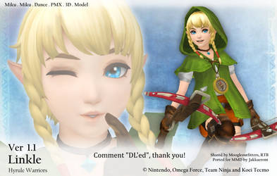 MMD Linkle DL Ver 1.1 (Hyrule Warriors) by Jakkaeront