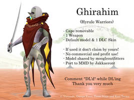 MMD Ghirahim (Hyrule Warriors) DL by Jakkaeront