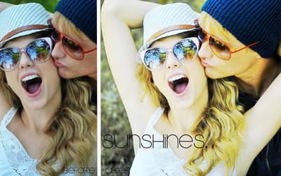 Sunshines - Action by feelingsofthesky