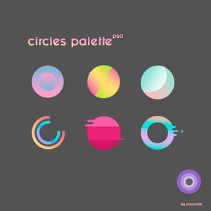 Circles Palette Pack By C0loursite