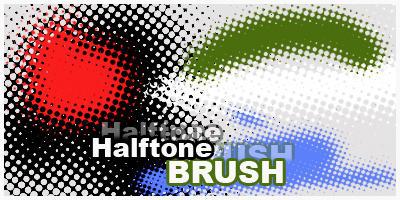 Halftone BRUSH by LeNb