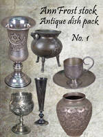 Antique dish pack I by AnnFrost-stock