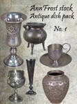 Antique dish pack I