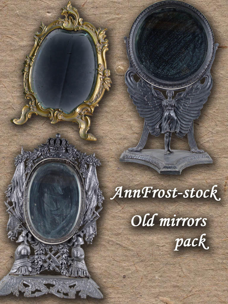 Old mirrors pack by AnnFrost-stock