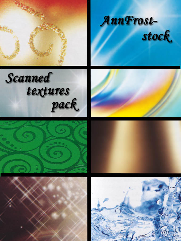 Scanned textures pack by AnnFrost-stock