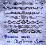 Borders brush set