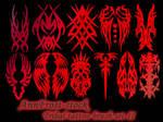 Tribal tattoo brushes II